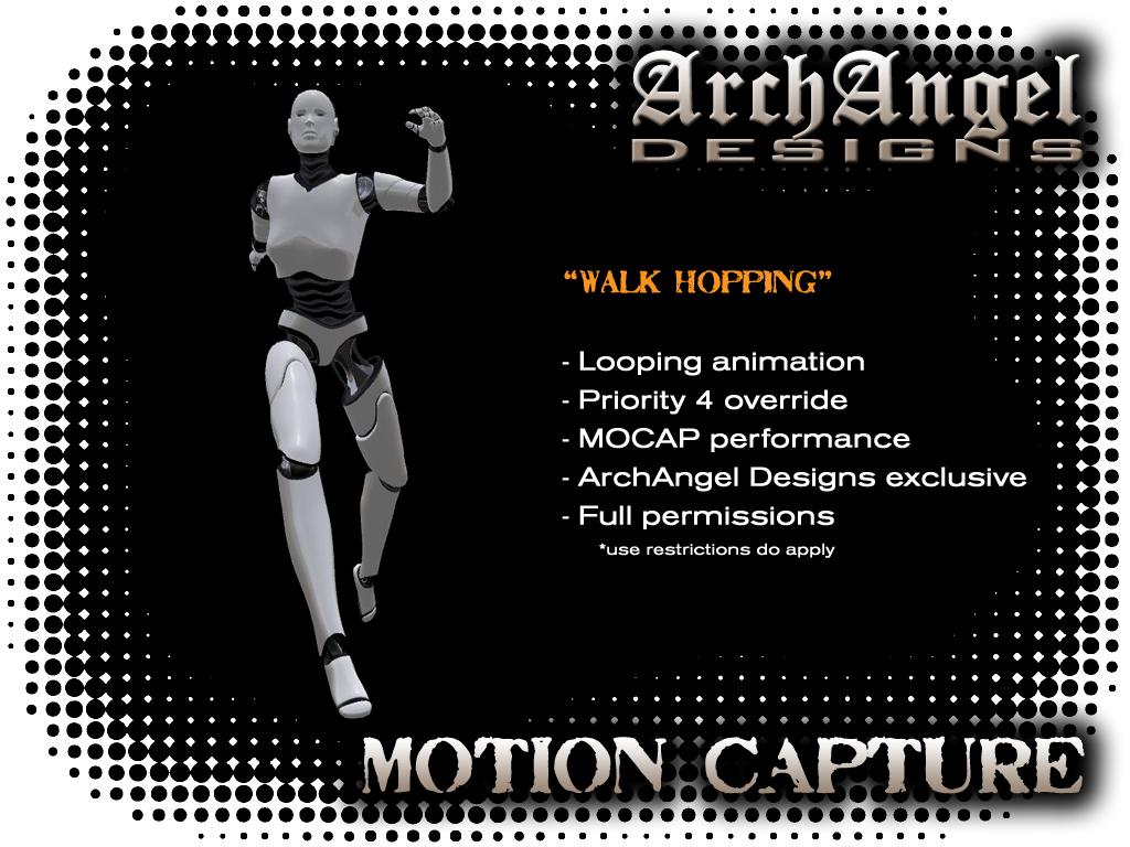 Full Permission MOCAP Animations – Volume 01 | ArchAngel Designs